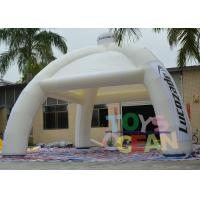 Quality Spider Advertising Project Inflatable Dome Tent With Interchangeable Velcro Banner for sale