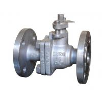 China 2 Pieces Ball valve Operating Type Lever Handle Pressure Rating PN25 wholesale
