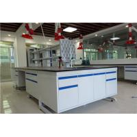 China Custom Made Island Bench  Lab Furnitures With Sink Unit For  Chemical  Lab Furniture wholesale