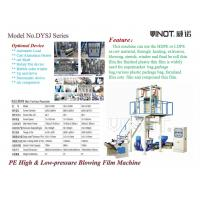 China Vinot Quality High Efficient Three Layers Film Blowing Machine Customized for U.K.  with LLDPE Material Model 3SJ-G1000 wholesale