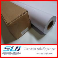 Quality Air Channel Self Adhesive Vinyl with Grey Glue for sale