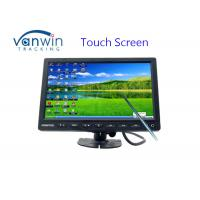 Buy cheap 10.1 Inch Touch Screen Car Headrest LCD Monitor With VGA & AV inputs or 4-pin from wholesalers
