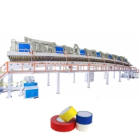 China Water Based Acrylic BOPP Jumbo Roll Solvent Adhesive Coating Machine wholesale
