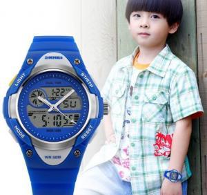 China SKMEI S-SHOCK Analog Digital Wristwatch 1055 Hot Cute Kids Quartz Military Watch 1055 wholesale