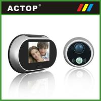 China Large screen 3.5inch digital door viewer on sale