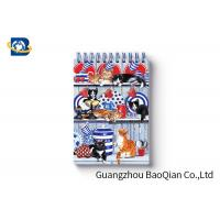 China Spiral Binding 3D Lenticular Personalised Stationery Notebooks Cartoon Pet Hardcover wholesale