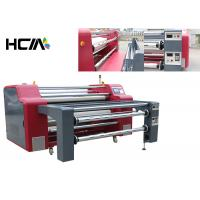 China Rotary Heat Transfer Dye Sublimation Machine Professional Rewinding Function on sale