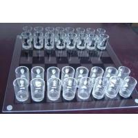 China Glass Chess Set,White Glass Chess Game,Large Glass Chess Set wholesale