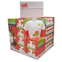 China Corrugated Cardboard Pallet Display stand for T-shirts wholesale