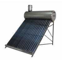 China 167L 20 Tubes Compact Low Pressure Copper Coil Pre-Heated Solar Water Heater wholesale
