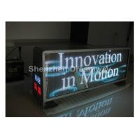 Full Color Epistar HD Video Taxi LED Display Panel Boards P 5 1R1G1B With Silver Cabinet