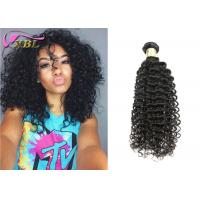 Soft 100 Raw Curly Virgin Indian Hair Weave Unprocessed Black Hair Products