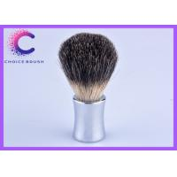 Quality Custom Shaving Brush colorfule metal handle and black badger shaving brushes for sale