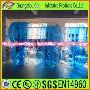 China Inflatable Blue Human Bubble Ball wholesale
