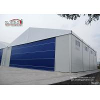 China Aluminum Curve Portable Aircraft Hangars Construction A Frame Snow Resistance wholesale