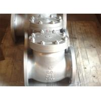 Buy cheap Bolted Cover Cast Stainless Steel Swing Check Valve API 6D ANSI B 16.25 CN7M from wholesalers