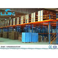 China Metal Rack Supported Mezzanine Anti Corrosion Material Various Size Optinal wholesale