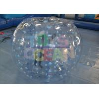 China Large Transparent Inflatable Bumper Ball Waterproof Durable CE DIA wholesale