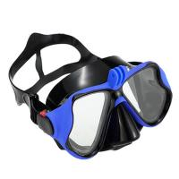 China Adult Scuba Anti Fog Scuba Mask , Swimming Mask With Nose Cover Customize Logo wholesale