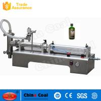 Quality Made In China Semi-automatic One Head Piston Liquid Filling And Packing Machine for sale