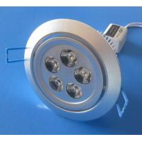 China Residential, School, Hospital 15Watt / 5 x 3W Epistar LED Downlight Fixtures 85V - 265V AC wholesale