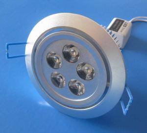 Quality Aluminum 5 x 1W Recessed LED Downlight 85V - 265V AC for Hotel, Restaurant, KTV for sale