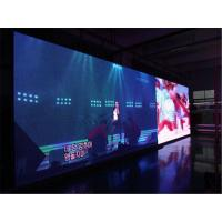 China HD P4 SMD Indoor Advertising LED Screen , IP30 1R1G1B Die - Cast Display wholesale