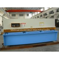 China Manual Hydraulic Shearing Machine Metal Cutting Shear With 3.2m Blade wholesale