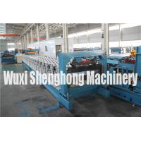 China 4KW Strong Strength Metal Deck Roll Forming Machine High Ribs wholesale