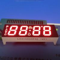 China 4 Digit 14.2mm 7 Segment Custom LED Display Ultra Red Oven Control Application wholesale