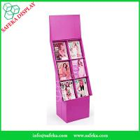 Buy cheap Customized printing 6 pockets Paper material FSDU Cardboard floor Display book from wholesalers