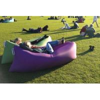 China Best selling in Europe and the United States banana sleeping bag lamzac hangout inflatable wholesale