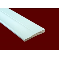 Buy cheap Residential White Decorative Casing Molding 100% Cellular PVC from wholesalers