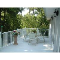 China Aluminum deck  fence/ aluminum railing/ security railing for home and garden courtyard outdoor usage wholesale