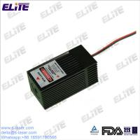 China Customized FDA Certify 532nm 30mw-200mw High Power DPSS Green Laser Module with TEC Cooler wholesale