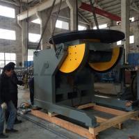 China Automatic Pipe Welding Positioners 10 Ton Tilting / Rotation Capacity CE Oil-free Gearbox wholesale