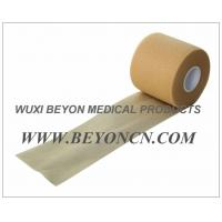 China No Adhesive Porous Flesh Color Foam Underwrap for Sports Pre Wrap / Gold Athletic Tape on sale