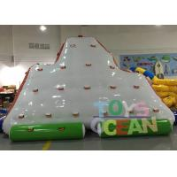 China Commercial Grade Inflatable Climbing Wall Inflatable Iceberg For Sport Game wholesale
