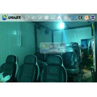 Quality 9 Persons 7D Movie Theater With Special Effect System , Thrilling Drastic for sale