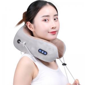 China Portable U Shaped Neck Massager 180 Degree Free Opening Infrared Light Hot Compress wholesale