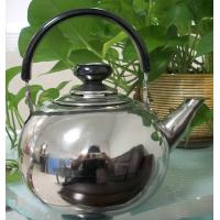 China SS 201 Heater Mirror Polish Stainless Steel Whistling Tea Kettle Pot wholesale