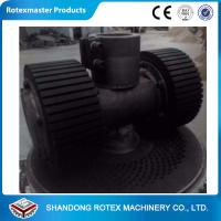 Quality Biomass Flat Die Home made Saw Dust Pellet Making Machine 500-600 KG / H for sale
