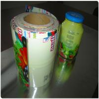 China Roll Stock PVC Bottle Shrink Label Film wholesale