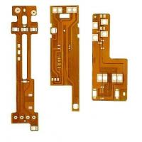 China Flexible Circuit Double Sided PCB Boar W / Yellow Solder Mask ENIG Surface Finish wholesale