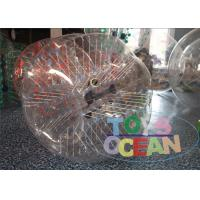 Quality Amazing Durable Clear Inflatable Human Bumper Ball With TPU / PVC Material for sale