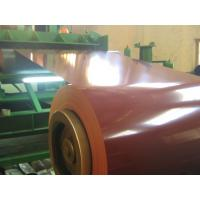 China JIS Standard 55% AL Prepainted Steel Coil , Colour Coated  PPGL Coil wholesale