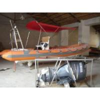 China Rigid Inflatable Boat Rib680 with Stern Console wholesale