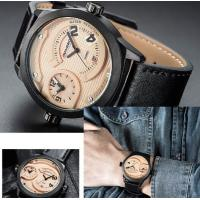 Quality LONGBO Double Movement The Three Dimensional  Leisure Fashion Men Genuine Leather Srrap Waterproof 30m Watches  3016 for sale