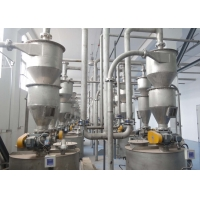 China 100m 10000kg/H Dense Phase Pneumatic Conveying System High Velocity wholesale
