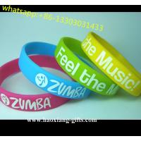 China Europe Regional Feature and Folk Art Style glow in dark silicone wristband wholesale